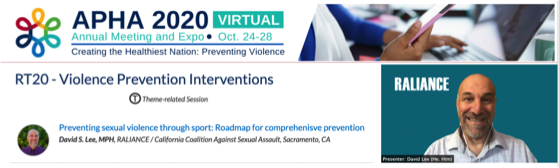 Preventing Sexual Violence at 2020 Public Health Conference