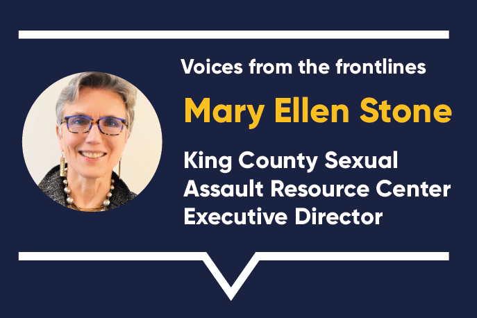 Voices from the frontlines: Mary Ellen Stone