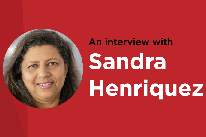 An interview with Sandra Henriquez