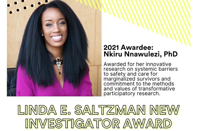 2021 Awardee: Nkiru Nnawulezi, PhD